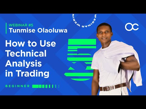 [ENGLISH] Webinar 5 – How to Use Technical Analysis in Trading | Forex Trading in English