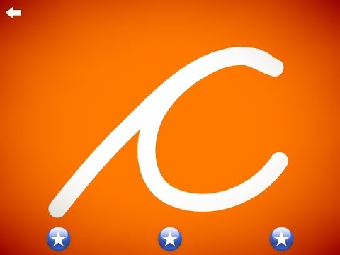 The letter c - Learn the Alphabet and Cursive Writing!