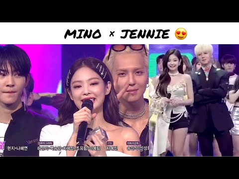 How close Jennie and Mino is?