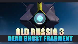 Destiny The Taken King - Dead Ghost Old Russia 3 Location Guide