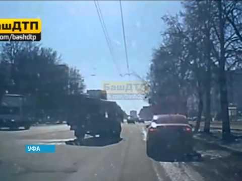 На улице Зорге в Уфе был сбит пешеход