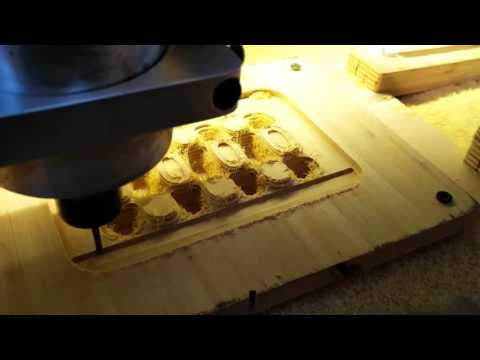 Making the Grunblau soap dish