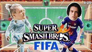 FUSSBALL in SMASH?! / Die BESTEN Custom-Stages!