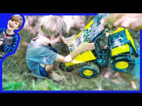 Construction Trucks for Children | Developing Natural Spring