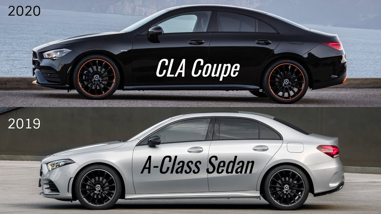Sedan Vs Coupe >> 2020 Mercedes Cla Coupe Vs Mercedes A Class Sedan