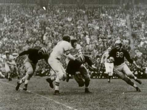 Tom Harmon against Ohio State - 1940
