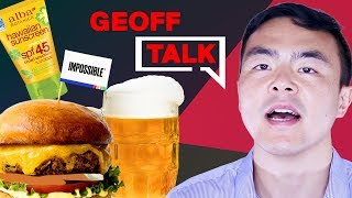 Are Beyond Meat Burgers Actually Healthy? [MY HOT TAKE + more health news] · Geoff Talk