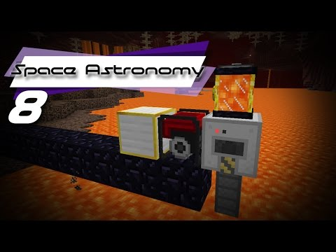 LAVA POWER! Part 2 |FTB| Space Astronomy #8
