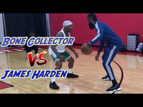 Bone Collector vs James Harden New Move Challenge
