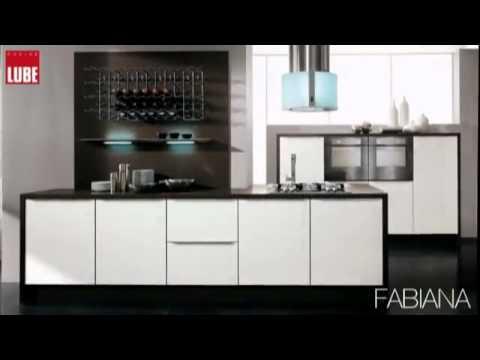 Cucina Lube Mod. Fabiana da Rosa Mobili a Scordia CT - YouTube