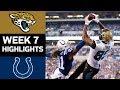 Jaguars vs. Colts | NFL Week 7 Game Highlights