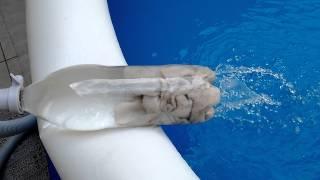 Filtrando água da piscina fácil !!