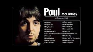 Paul McCartney The Best Songs 2019  || Paul McCartney Greatest Hits Full AlbuM 2020