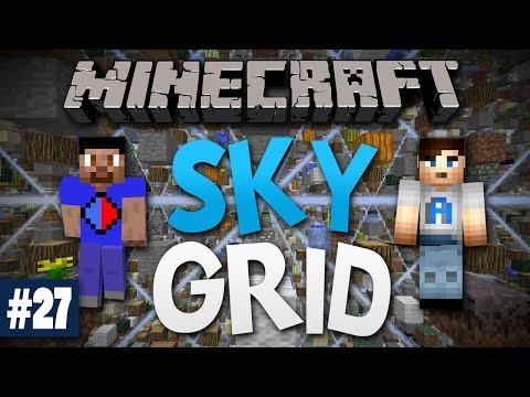 Minecraft SKY GRID #27 with Vikkstar & Ali A (Minecraft Skygrid Survival)