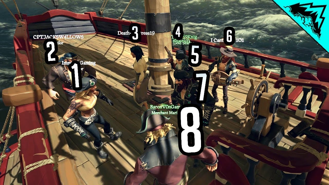 8 MAN CREW - Sea of Thieves Greatest Experience #5