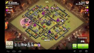 La la Funny Clash of Clans - Unbeaten War Base TH9 Anti Balloons + Lava Hounds, G by Smile to Happy
