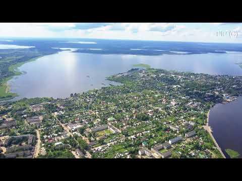 Селигер Осташков 07 2017 с воздуха DJI Mavic