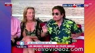Revive los mejores momentos de Felipe Avello en la TV