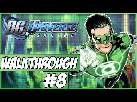 DC Universe Online Walkthrough - Episode 8 - Hall Of Justice!