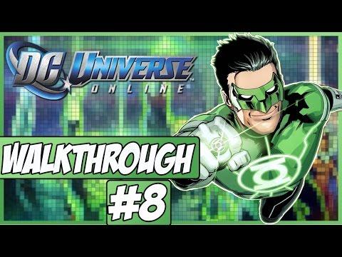 DC Universe Online Walkthrough - Episode 8 - Hall Of Justice!