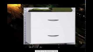 Homestar 2 Drawer Organizer In White Laminate