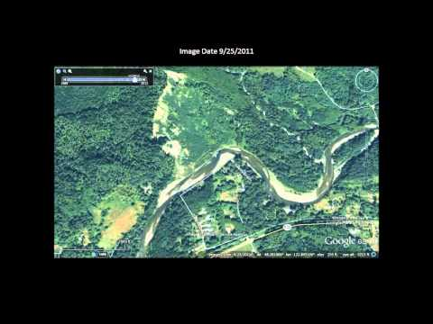 Oso Slide Photos with Geology Map