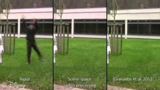 Sampling Based Scene-Space Video Processing