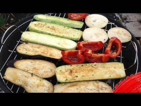 Что можно приготовить на гриле кроме мяса // Запечённые овощи на гриле