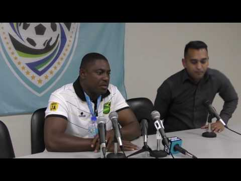 Post Match Comments from Jamaica's Head Coach after 3-2 win over T&T