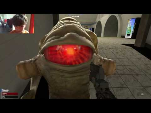 GMod with Aliens at the Train Station