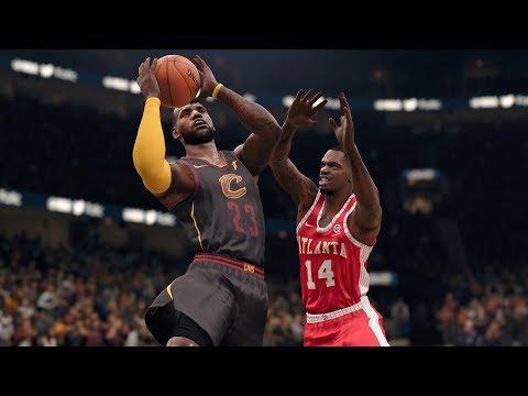 NBA Today 12/12/2017 - Cleveland Cavaliers vs Atlanta Hawks Full NBA Game Live (NBA Live 18)