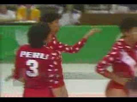 PERU VS USSR SEOUL 88 VOLLEYBALL FINAL SET 1