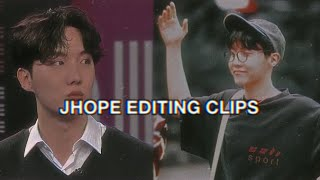 JHOPE EDITING CLIPS