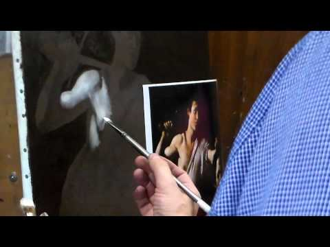 The Late Painting Method Of Caravaggio - Underpainting the Lights
