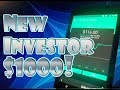 Robinhood APP - How to INVEST $1000 Dollars on the STOCK MARKET!