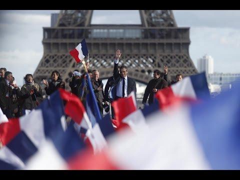 Grand rassemblement populaire, place du Trocadéro