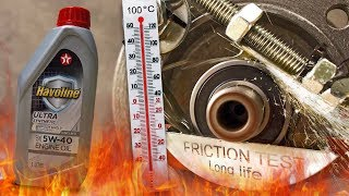 Texaco Havoline Ultra 5W40 Jak skutecznie olej chroni silnik? 100°C