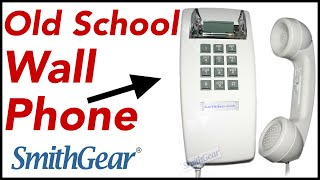 Cortelco Corded Wall Phone 2554 Kitchen Telephone from SmithGear