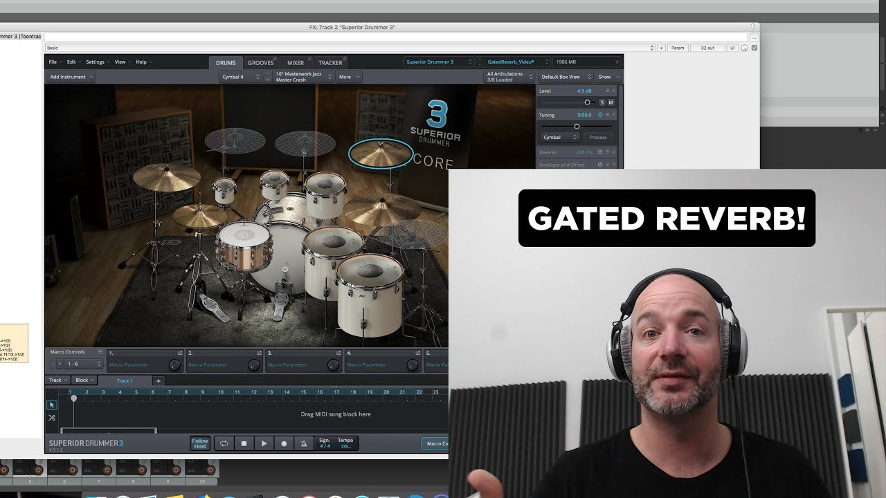 How To Create The Iconic 80 S Snare Sound Gated Reverb Baby