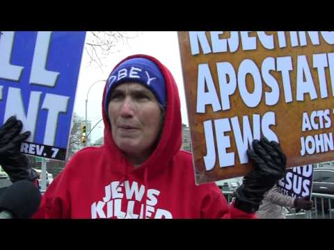 Westboro Baptist Church protests at Yeshiva University