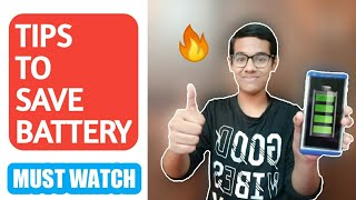 Tips to save battery|save Android battery| Good Battery Life | Shafi technique