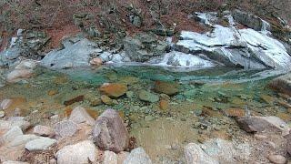설악산 비선대와 금강굴의 겨울 비경