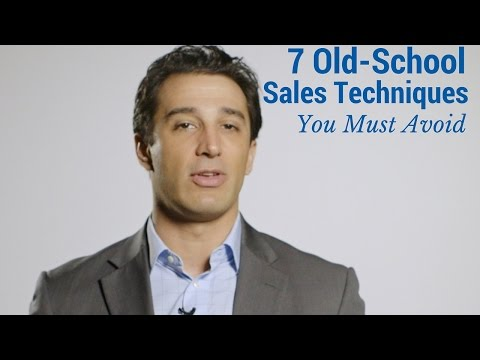 7-old-school-sales-techniques-you-must-avoid