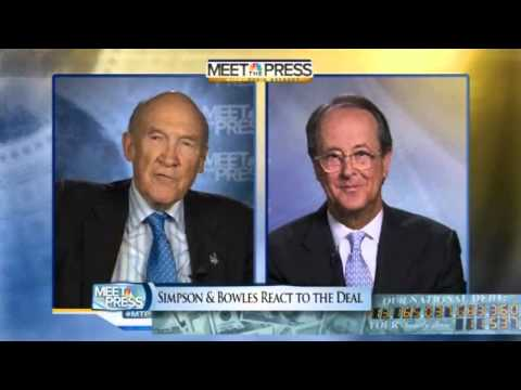 Alan Simpson & Erskine Bowles: Highlights From Meet The Press