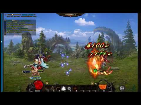 Divosaga thailand (Wartune) server2 Censer vs Angle (guildwar)15/4/2556