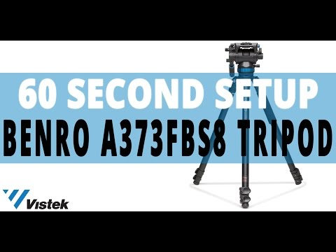 How to Get it Right the First Time: Benro S8 Video Tripod | 60 Second Set-up