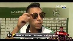 Lo mejor de brian sarmiento el showman del fútbol Argentino