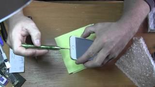 видео IPhone 5 поиск сети решаем проблему