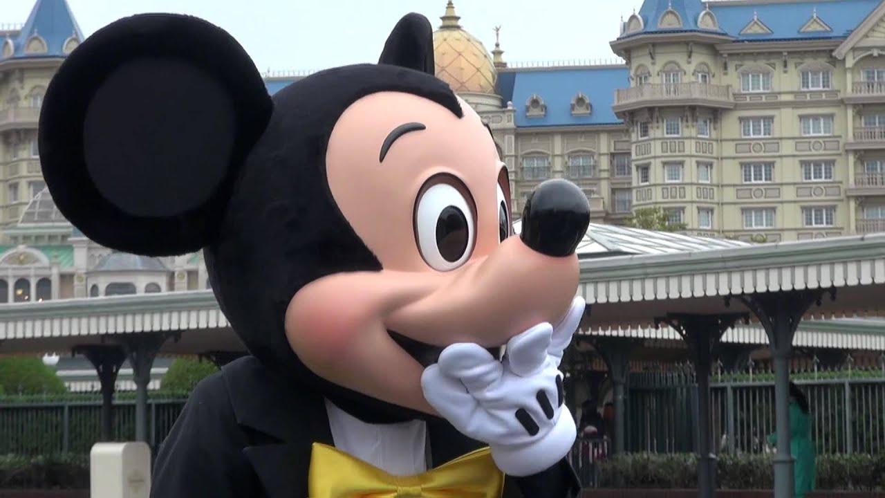 ミッキーマウスがいました(東京ディズニーランド) - youtube