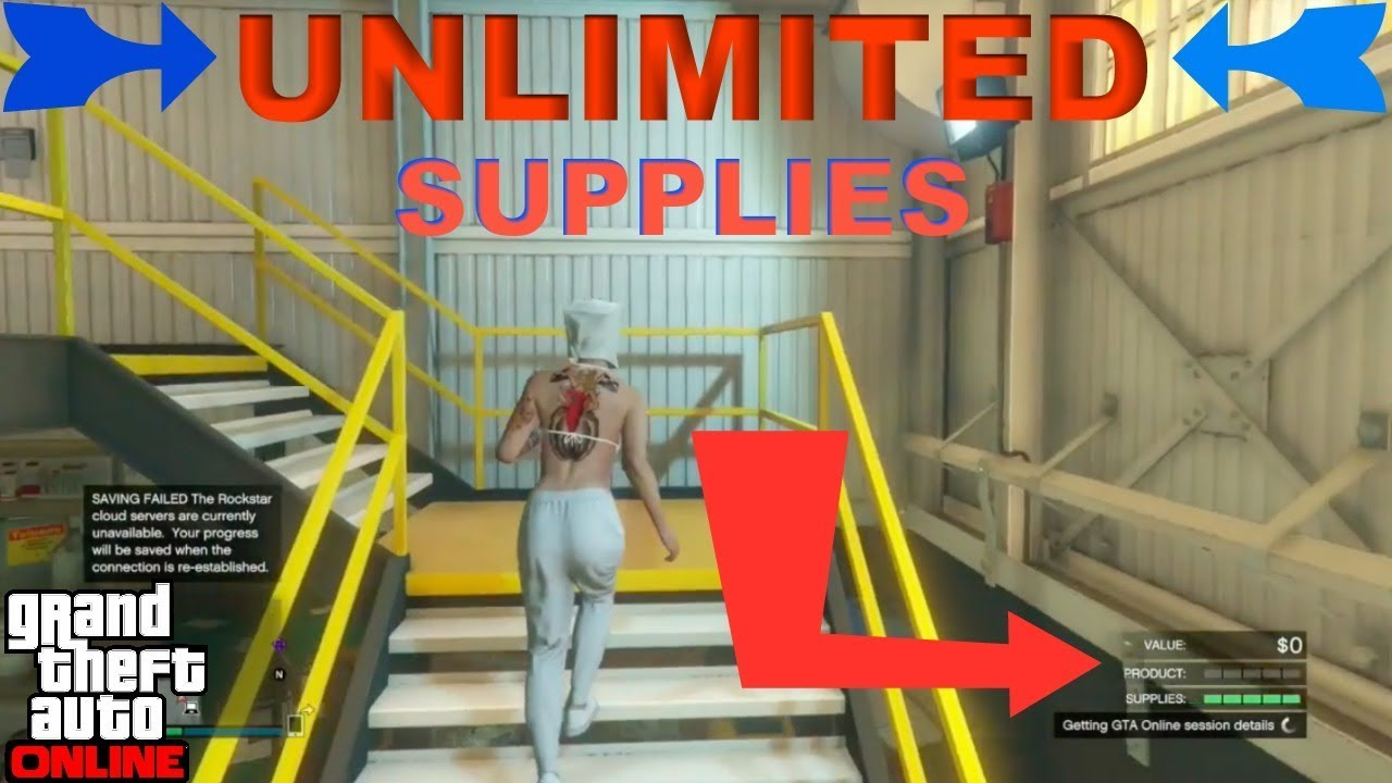 GTA 5 Glitch UNLIMITED Supplies SOLO **Patched**